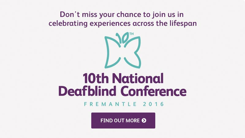10th National Deafblind Conference