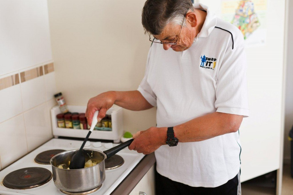 client-cooking-at-home